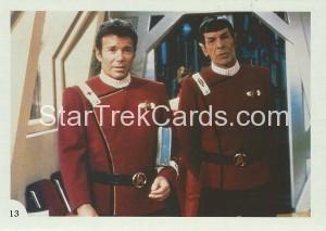 Star Trek II The Wrath of Khan FTCC Trading Card 13