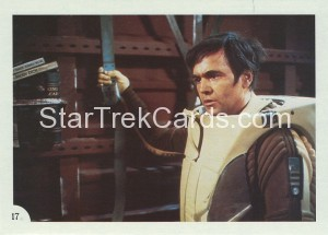 Star Trek II The Wrath of Khan FTCC Trading Card 17