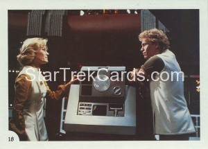 Star Trek II The Wrath of Khan FTCC Trading Card 18