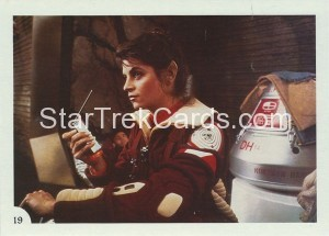 Star Trek II The Wrath of Khan FTCC Trading Card 19