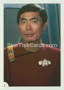 Star Trek II The Wrath of Khan FTCC Trading Card 2