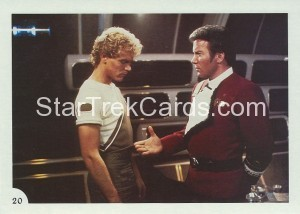 Star Trek II The Wrath of Khan FTCC Trading Card 20
