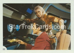 Star Trek II The Wrath of Khan FTCC Trading Card 22