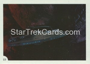Star Trek II The Wrath of Khan FTCC Trading Card 23