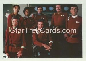 Star Trek II The Wrath of Khan FTCC Trading Card 24