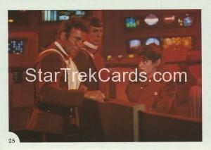 Star Trek II The Wrath of Khan FTCC Trading Card 25
