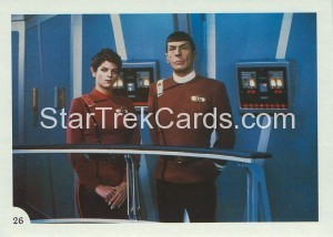 Star Trek II The Wrath of Khan FTCC Trading Card 26