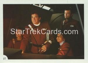 Star Trek II The Wrath of Khan FTCC Trading Card 27