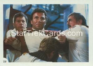 Star Trek II The Wrath of Khan FTCC Trading Card 28