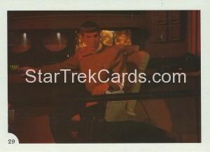 Star Trek II The Wrath of Khan FTCC Trading Card 29