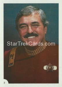 Star Trek II The Wrath of Khan FTCC Trading Card 3