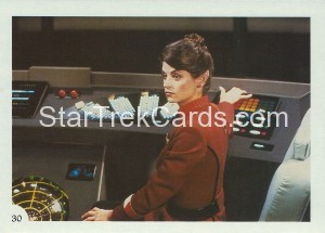 Star Trek II The Wrath of Khan FTCC Trading Card 30