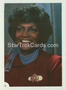 Star Trek II The Wrath of Khan FTCC Trading Card 4