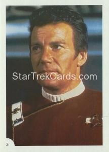 Star Trek II The Wrath of Khan FTCC Trading Card 5