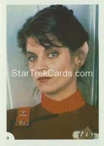 Star Trek II The Wrath of Khan FTCC Trading Card 9