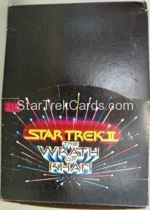 Star Trek II The Wrath of Khan FTCC Trading Card Box 1
