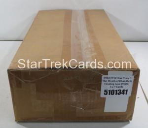 Star Trek II The Wrath of Khan FTCC Trading Card Bulk Vending Case Side