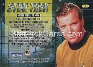 Blockbuster Captains Set Trading Card 1 of 4 Back