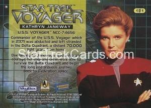 Blockbuster Captains Set Trading Card 4 of 4 Back