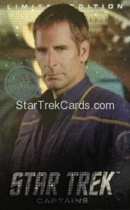 Dave Busters Star Trek Captains Arcade Trading Card Limited Edition Captain Archer