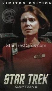 Dave Busters Star Trek Captains Arcade Trading Card Limited Edition Captain Garrett