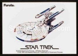 Federation Ships And Alien Ships Collection Volume 1 Trading Card USS Stargazer NCC 2893