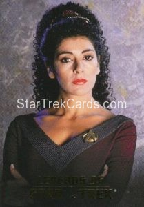 Legends of Star Trek Trading Card Counselor Deanna Troi L1
