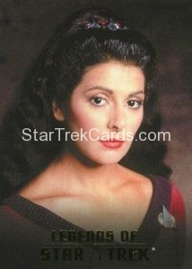 Legends of Star Trek Trading Card Counselor Deanna Troi L2
