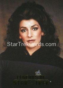 Legends of Star Trek Trading Card Counselor Deanna Troi L4