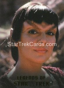 Legends of Star Trek Trading Card Counselor Deanna Troi L7