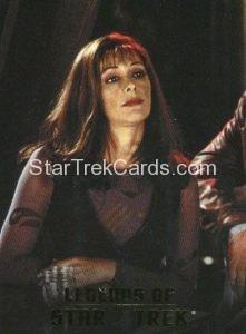 Legends of Star Trek Trading Card Counselor Deanna Troi L8