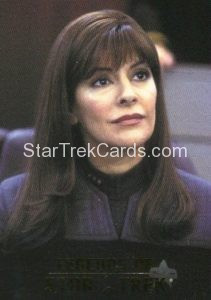 Legends of Star Trek Trading Card Counselor Deanna Troi L9
