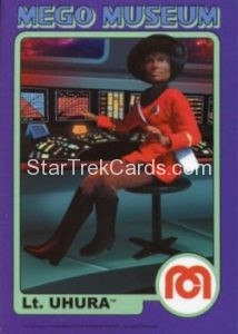 Mego Museum Trading Card 43