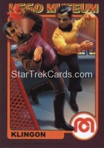 Mego Museum Trading Card 44
