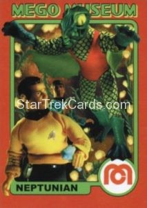 Mego Museum Trading Card 48
