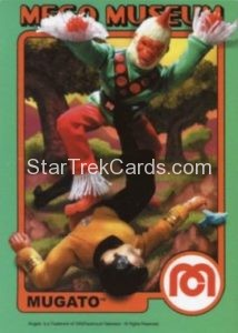 Mego Museum Trading Card 50