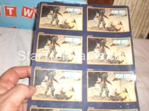 Star Trek 25th Anniversary Series I Trading Card 39 Uncut Sheet Alternate