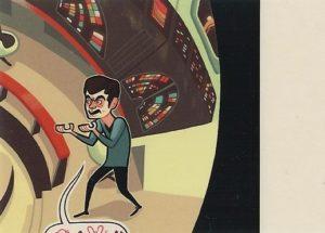 Star Trek 50 Artists 50 Years Trading Card 11