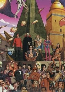 Star Trek 50 Artists 50 Years Trading Card 5