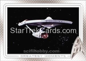 Star Trek 50th Anniversary Trading Card 1