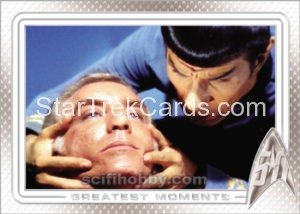 Star Trek 50th Anniversary Trading Card 10