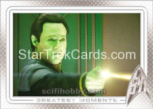 Star Trek 50th Anniversary Trading Card 100