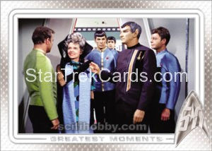 Star Trek 50th Anniversary Trading Card 11