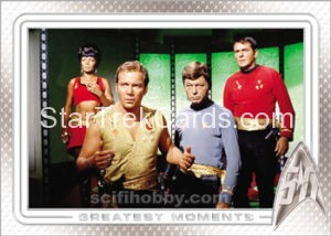 Star Trek 50th Anniversary Trading Card 14