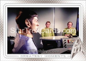 Star Trek 50th Anniversary Trading Card 17