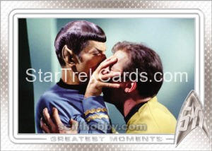 Star Trek 50th Anniversary Trading Card 18