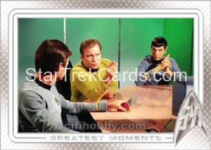 Star Trek 50th Anniversary Trading Card 2