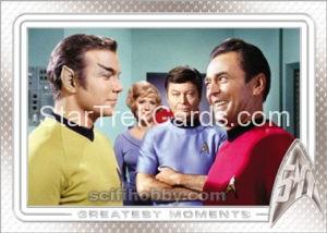 Star Trek 50th Anniversary Trading Card 22