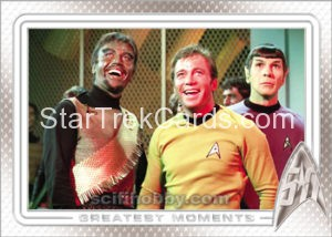 Star Trek 50th Anniversary Trading Card 29