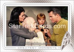 Star Trek 50th Anniversary Trading Card 30
